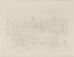 Amsterdam, The Damrak, Palace etc