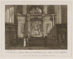 Praalgraf van Michiel Adriaanszoon de Ruiter, in de Nieuwe Kerk te Amsterdam