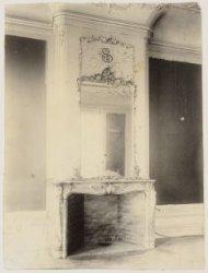 Een van de stijlkamers van de Suasso-vleugel (opgeheven in 1976) in het Stedelij…