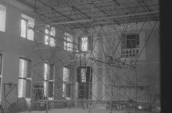Verbouwing van het Paleis op de Dam, ter voorbereiding van het huwelijk van prin…