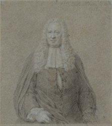Portret van burgemeester Gerrit Hooft