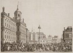Feest der Vrijheid, Gevierd te Amsterdam, op het Plein der Revolutie, 4 Maart, 1…