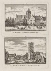 Het Oude Stad-huis tot Amsterdam 1640 / Het Oude Stad-huis tot Amsterdam verbran…