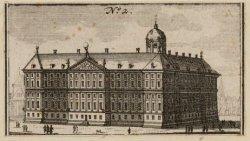 Nieuwezijds Voorburgwal 147, achter- en zijgevel van het Stadhuis (na 1808 het K…