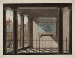 Het Gedenkteeken voor Van Speyck, aangebracht in het Burgerweeshuis op de binnen…