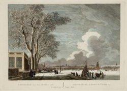 Amsterdam aan den Amstel 1762. Kleur. Fouquet jr