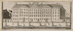Het Aalmoezeniersweeshuis, later Paleis van Justitie, Prinsengracht 436. Technie…