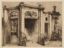 Tuinhuis van perceel Keizersgracht 317, bij de Wolvenstraat