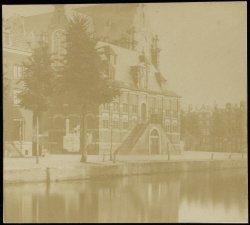 De Westerhal, Keizersgracht (ter hoogte van nummer) 200, afgebroken in 1857