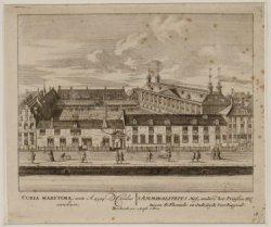 't Ammiraliteits Hof, ander het Prinsenhof tussen de Fluweele en Oude-Zyds Voorb…