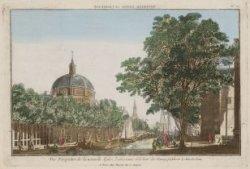 Vue Perspective de la nouvelle Eglise Lutherienne et la Tour des Haringpakkers à…