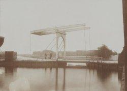 Ophaalbrug in de Houthaven