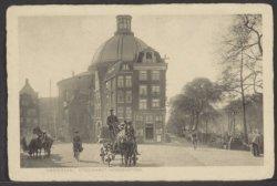 Stromarkt 2-4, links Kattengat en rechts het Singel, midden Ronde Lutherse Kerk,…
