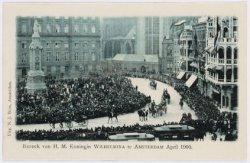 Bezoek Koningin Wilhelmina en Prins Hendrik, 1900