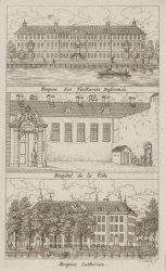 Hospice des Veillards Reformés; Hospital de la Ville; Hospice Luthérien