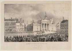De Nieuwe Beurs te Amsterdam, ingewijd den 10den September 1845