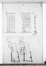 Bouw van het kantoorgebouw Rokin 115 in opdracht van de Algemeene Friesche Leven…