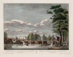 Gezicht na de Weterings Poort te Amsterdam