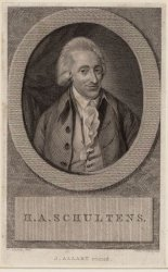 Hendrik Albert Schultens (25-02-1749 / 12-08-1793)