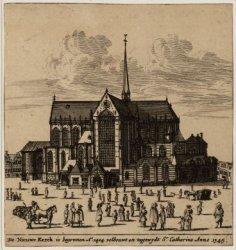 De Nieuwe Kerck is begonnen Ao 1414 volbouwt en toegewydt St. Catharine Anno 134…