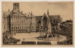 Militaire revue ter gelegenheid van de 18e verjaardag van de kroonprins op 4 sep…