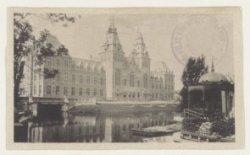 Het Rijksmuseum, Stadhouderskade 42, gezien over de Singelgracht met rechts de t…