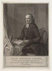 Johan Diedrich Deiman (09-04-1732 / 09-04-1783)
