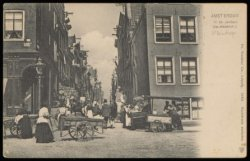 Elandsgracht hoek Hazenstraat. Uitgave Dr. Trenkler Co., Leipzig