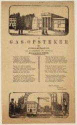 De gas-opsteker der stads-lantaarnen, aan de ingezetenen der stad Amsterdam. Jan…