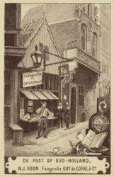 De Post op Oud-Holland. N.J. Boon, Fotografie, Guy de Coral & Co
