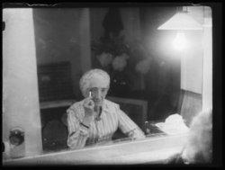 Portret van de actrice Esther de Boer-van Rijk