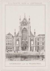 O.L. Vrouwe Kerk te Amsterdam Opgedragen aan de Weldoeners