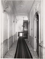 Interieur, Herengracht 160. Een gang