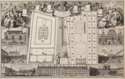 Platte Gronden | van het Oude Zyds Huiszitten Huis | en Huiszitten Weduwen Hof, …
