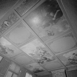 Keizersgracht 414, plafond van de zaal in het achterhuis