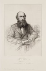 Portret van boekhandelaar, bibliograaf en veilinghouder Frederik Muller (1817-18…