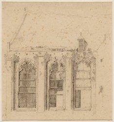 Nieuwe Kerk, Dam 12, na de brand van 1645