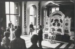 Nieuwezijds Voorburgwal 147, Paleis op de Dam, de Schepenzaal, tijdens de tentoo…