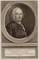 Gerard Aarnout Hasselaar (21-02-1698 / 12-07-1766)