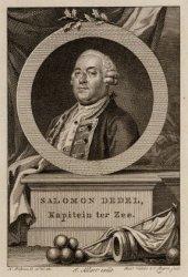 Portret van Schout bij Nacht Salomon Dedel (1736-1800)