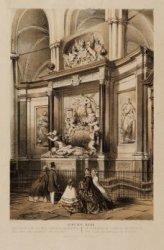 Het praalgraf van den Admiraal de Ruyter - Le tombeau de l'Admiral de Ruijter