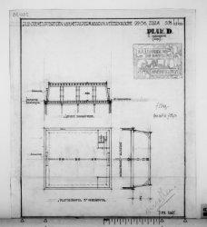 Vervallen tekeningen van uitbreiding en verbouwing van een kantoorgebouw met 2 v…