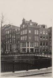 Keizersgracht 464-472 (links, v.r.n.l.), hoek Leidsegracht 29 (rechts)