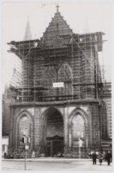 Nieuwezijds Voorburgwal 143, restauratie Westgevel Nieuwe Kerk