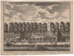 Otterspoor; de plaets van den Hr: Jacob van Lennep; van buiten