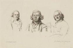 De schilders en tekenaars Isaac Schmidt (1740-1818), Cornelis Buys (1746-1826) e…