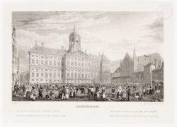 Het Koninklijk Paleis en de Nieuwe Kerk