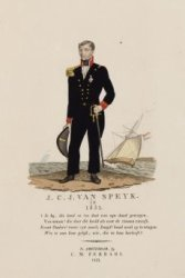 Portret van Jan Carel Josephus van Speijk (1802-1831), luitenant ter zee