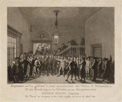 Deputatie door den Colonel J. van Goudoever, de heeren P.Witmond en H. van Blomb…