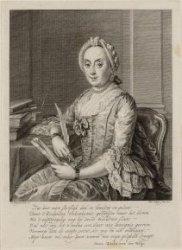 Sara Maria van der Wilp (1716-1806)